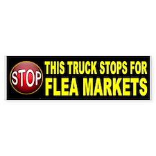 FLEA MARKET BUMPER Bumper Bumper Sticker