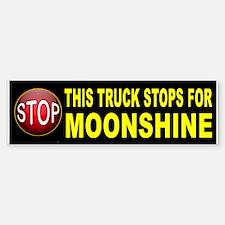 MOONSHINE BUMPER Bumper Bumper Bumper Sticker