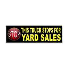 YARD SALE BUMPER Car Magnet 10 x 3