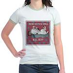 German Shorthair Pointer Jr. Ringer T-Shirt