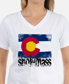 Snowmass Grunge Flag Shirt