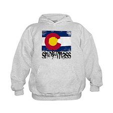 Snowmass Grunge Flag Hoodie