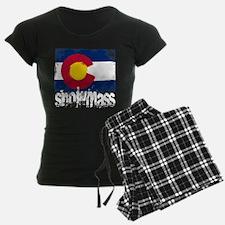 Snowmass Grunge Flag Pajamas