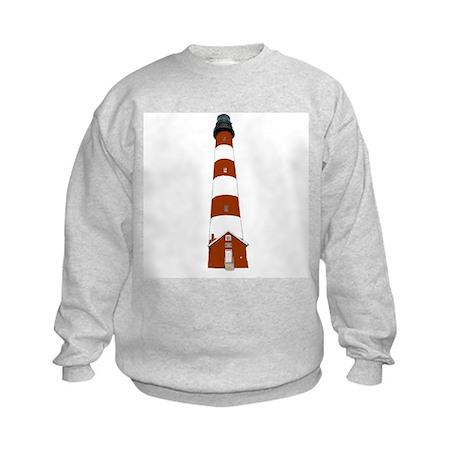 Assateague Lighthouse Kids Sweatshirt