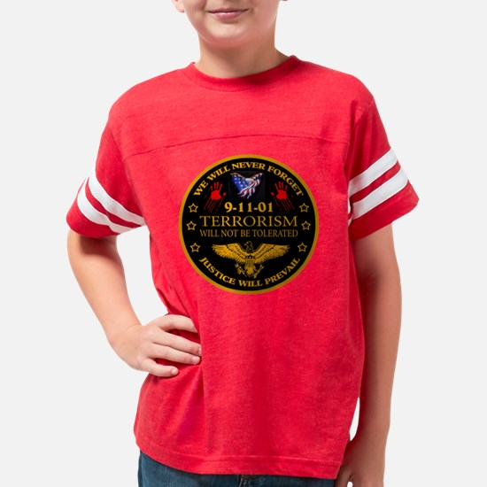 Justice Will Prevail Youth Football Shirt