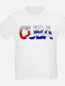 """""""Cuba Bubble Letters"""" T-Shirt"""