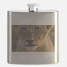Sparta Lion Cub Flask