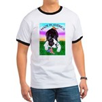 Bowing Boston Terrier Ringer T