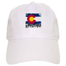 Keystone Grunge Flag Baseball Cap