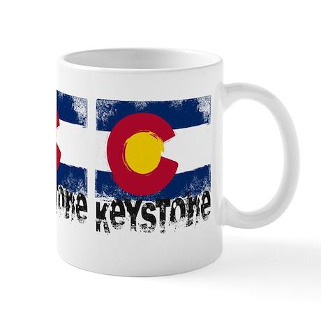 Keystone Grunge Flag Mug