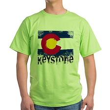 Keystone Grunge Flag T-Shirt