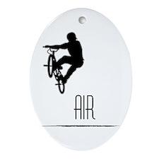 BIG AIR! Oval Ornament