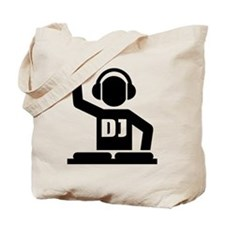 DJ Turntables music Tote Bag