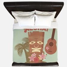 Vintage Hawaiian King Duvet