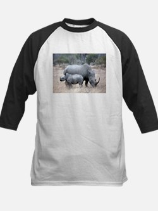 Mother and Baby Rhino Baseball Jersey