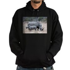 Mother and Baby Rhino Hoodie