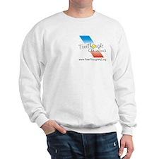 Freethought godless humanist nonbeliever Sweatshirt