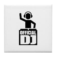 Official DJ Tile Coaster
