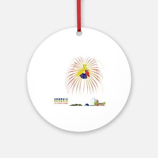 Armenia Quindio Ornament (Round)