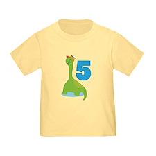 5th Birthday Dino T