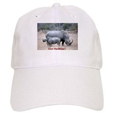 Save The Rhino Baseball Baseball Cap