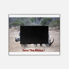 Save The Rhino Picture Frame
