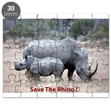 Save The Rhino Puzzle