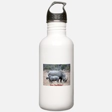 Save The Rhino Water Bottle