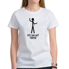 Pees can last forever Tee