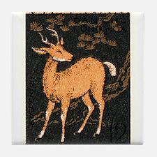 Vintage 1961 Vietnam Sambar Deer Postage Stamp Til
