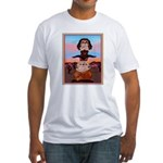 Bulldog Totem Pole Fitted T-Shirt
