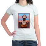 Bulldog Totem Pole Jr. Ringer T-Shirt