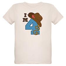 4 Year Old Cowboy T-Shirt