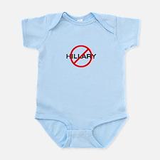 Stop Hillary Infant Bodysuit