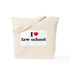 [i love law school] Tote Bag
