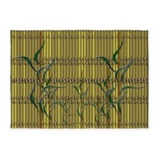 Tropic Bamboo Decor 5'x7'Area Rug