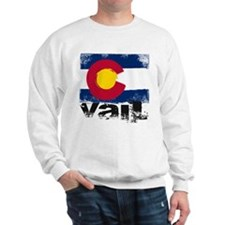 Vail Grunge Flag Sweater