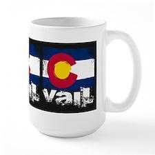 Vail Grunge Flag Mug