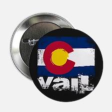 """Vail Grunge Flag 2.25"""" Button"""