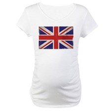 antiqued UK flag Shirt