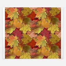 Fall Leaves King Duvet