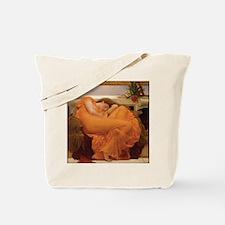 Sleeping Woman Tote Bag