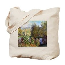 Corner of the Garden at Montgeron Tote Bag