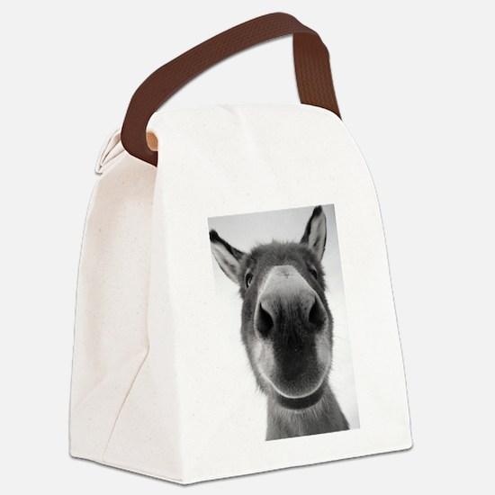 Sophia Smiling Canvas Lunch Bag