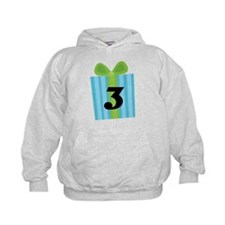 3rd Birthday Gift Number 3 Hoodie