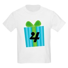 4th Birthday Gift Number 4 T-Shirt