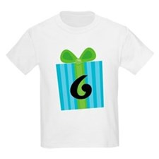 6th Birthday Gift Number 6 T-Shirt