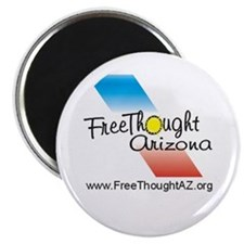 "Cool Freethought godless humanist nonbeliever 2.25"" Magnet (10 pack)"