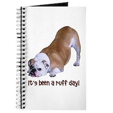 Bulldog Ruff Day Journal
