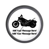 Motorcycle Wall Clocks